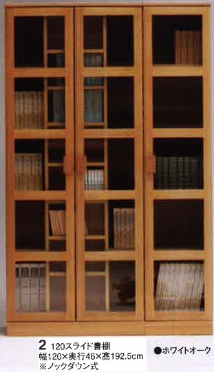 ディジー-120スライド書棚